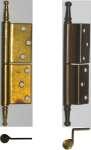 gekröpfte Bänder Eisen und Messing, Modell 4512 und 4513