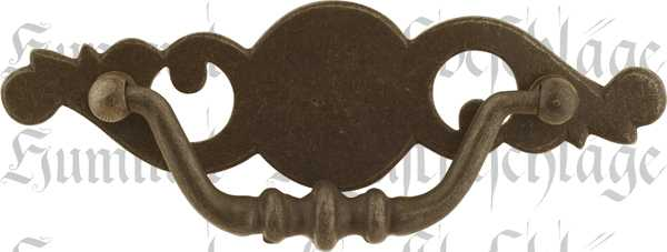 Schubladenbeschlage Antik Griffbeschlag Ohne Schlusselloch Eisen