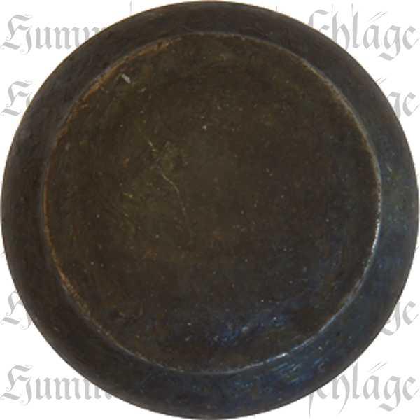 Knopf antik, Eisen gerostet und gewachst, gedreht, Ø 25mm, Möbelknopf Landhaus, Möbelknöpfe im Landhausstil
