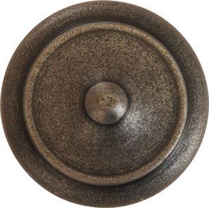 Möbelknopf rustikal, Ø 25mm, Eisen altgrau, Küche, Küchenknopf, Möbelknöpfe rustikale, perfekte antike Oberfläche für Küchen