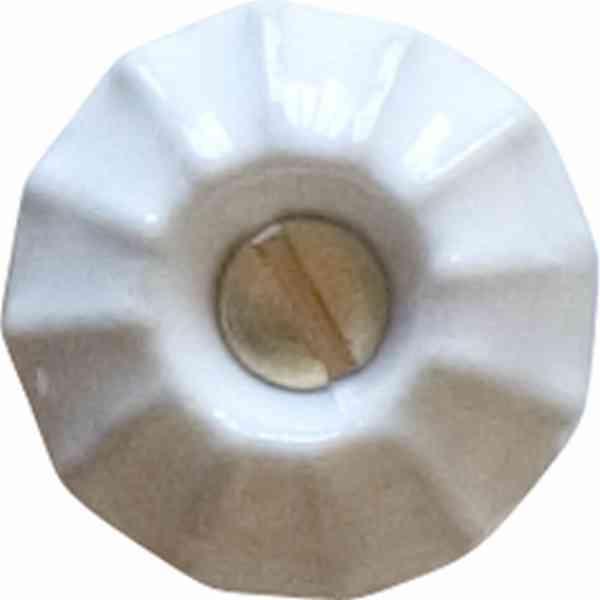 porzellanknopf 20mm wei aus porzellan keramik. Black Bedroom Furniture Sets. Home Design Ideas