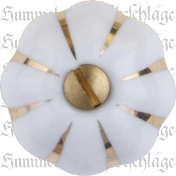 m belkn pfe keramik vintage wei f r schrank oder schubladen 24 mm goldstreifen mit. Black Bedroom Furniture Sets. Home Design Ideas