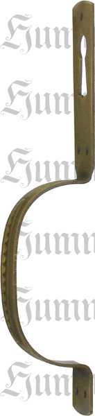 Griff, Messing patiniert, Bügelgriffe antik alt, alter Griff Bügel Bild 2