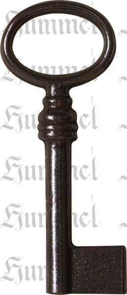 Schlüssel alter, 65mm, Eisen blank, alte Schlüssel antike