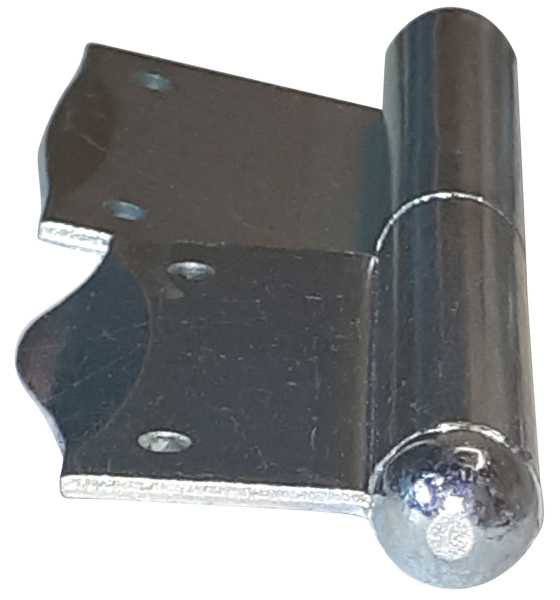 Fischband für Fenster, Fensterfitsche, rechts in Eisen verzinkt Bild 2