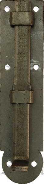 Möbelriegel antik, Riegel, gerade, Eisen blank