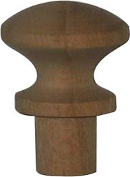 knopf kirsch 14 5mm holzknopf antik alt holz 6209 k. Black Bedroom Furniture Sets. Home Design Ideas