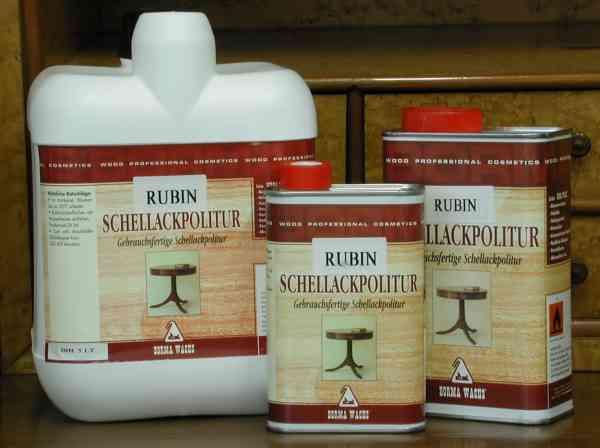 Schellack Politur schwarz, Schellackpolitur höchster Qualität, schwarzer Schellack, 1 Liter