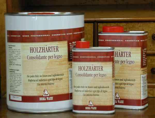Holzhärter, verstärkt poröses Holz, zur Festigung des Holzes, 1 Liter