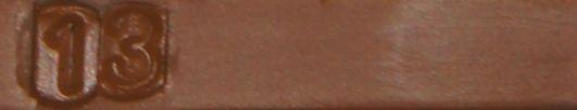 Borma Hartwachsstange, einzeln, 22g, Rüster dunkel, auch für Laminat Reparatur geeignet