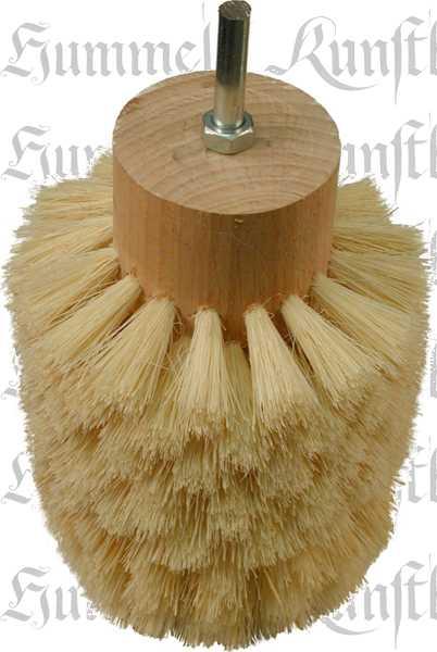 Polierbürste Wachs für Holz, Wachspolierbürste maschinell radial für Bohrmaschine, Fibre Naturborsten