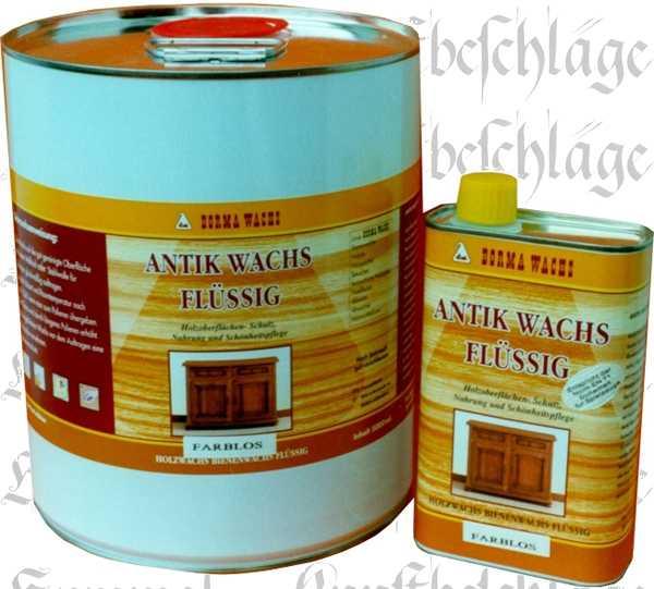 Antikwachs flüssig, Flüssigwachs, farblos, 500ml, antik Holzwachs flüssig