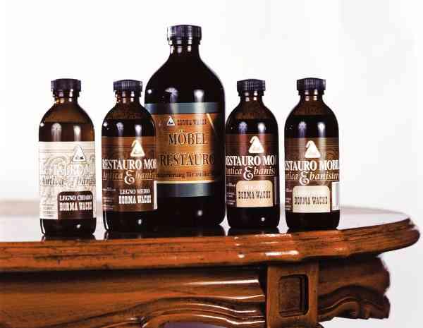 Restaurierungsöl, Borma Restauro Öl, Mittel, 500ml, Holzöl antik, super um Antiquitäten die noch in gutem Zustand sind, aufzufrischen.