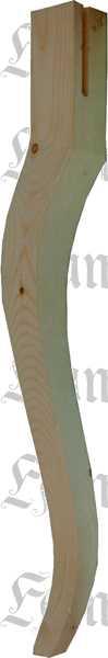 tischfuß antik, alte gefräste tischbeine aus holz geschwungen, Moderne