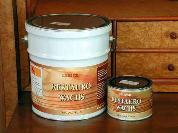 Restaurowachs farblos, 500cc, antik Restauro Wachs, Wachs für die Restaurierung