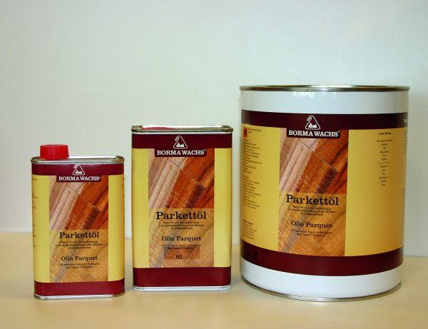 Parkett-Öl farblos, Holzöl für Parkett, Öl für Parkettfußböden, Parkettöl, 1 Liter von Borma