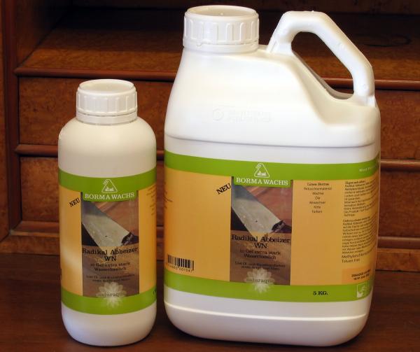 Borma Natura Abbeizer Flüssig, 1 Liter, Abbeizmittel für Holz und Lacke