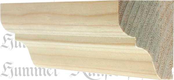 holzprofilleiste holzleiste antik fichte 2 4m 40x37mm 6711. Black Bedroom Furniture Sets. Home Design Ideas