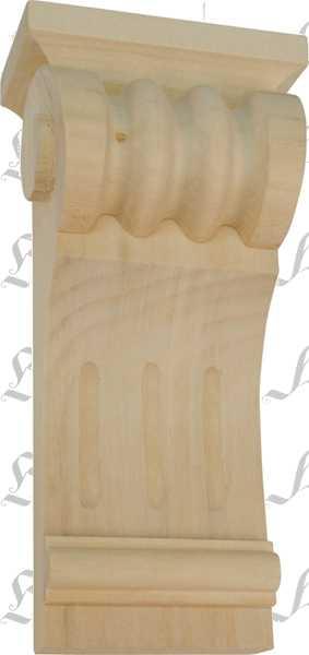 Kapitell Holz, Linde geschnitzt. Holzzierteil antik, Holzkapitell, Kapitelle Holz