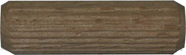 Riffeldübel Ø 12mm, Holz Dübel mit Riffelung zum Verbinden zweier Hölzer