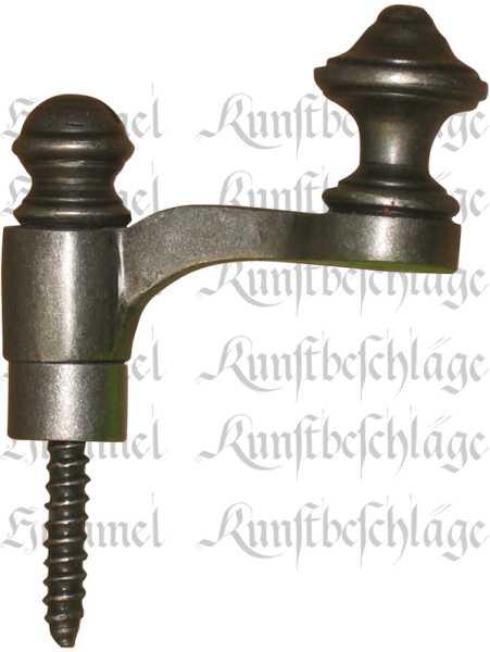 Vorreiber für Fenster oder Schränke Reiber Eisenguß alt verzinnt