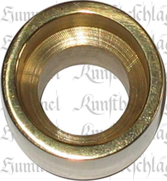 Drückerhalsverlängerung um 20mm, Messing, Oberfläche passend zu gewähltem Drücker Bild 2