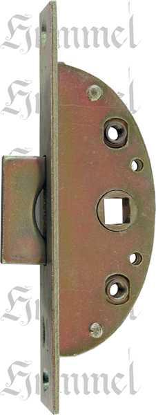 Einsteckeinreiber antik mit Zunge und Zubehör, Eisen verzinkt, Dornmaß 17mm