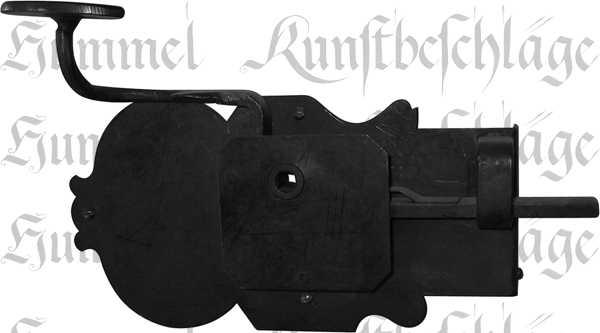 t rschloss alt historisch antik zimmert rschlossgarnitur eisen schwarz din links dornma. Black Bedroom Furniture Sets. Home Design Ideas