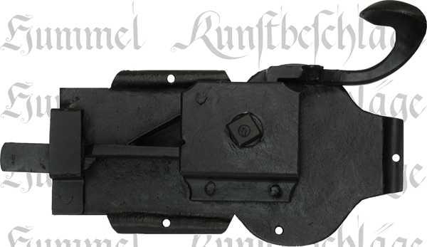 t rschloss altes antikes zimmert rschlossgarnitur eisen schwarz din rechts dornma 60mm. Black Bedroom Furniture Sets. Home Design Ideas