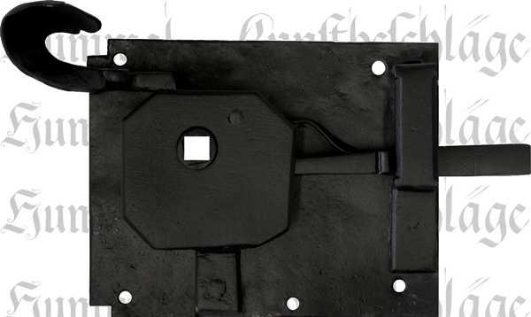 t rschl sser alte antike zimmert rschlossgarnitur eisen matt schwarz din links dornma 60mm. Black Bedroom Furniture Sets. Home Design Ideas