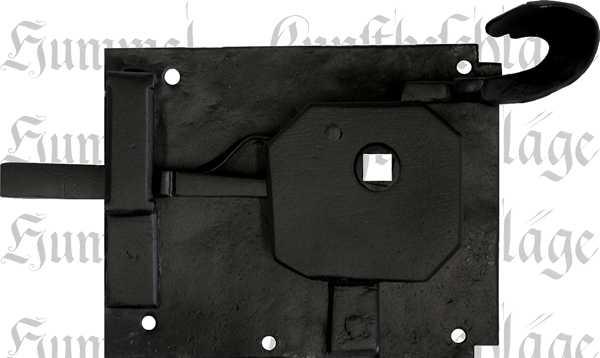 t rschl sser alt antik zimmert rschlossgarnitur eisen schwarz din rechts dornma 70mm 8764. Black Bedroom Furniture Sets. Home Design Ideas