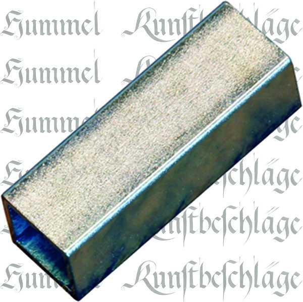 Reduzierhülse Eisen, 8x10mm, Aufsteckhülse Metall, für Vierkantstift