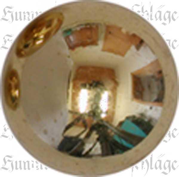 Knopf, Kugel, Ø 10 mm, Messing poliert unlackiert. Andere Oberflächen gegen Aufpreis möglich.
