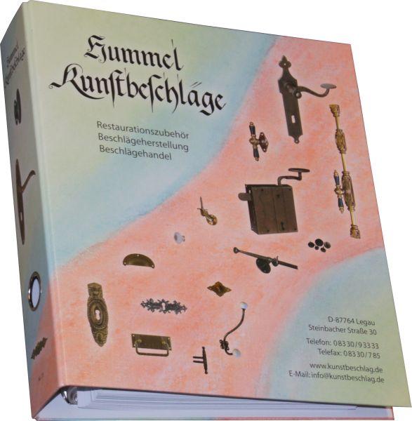 Katalog Hummel Kunstbeschläge 2012 Nr. 13, Ringordner, Restaurierungsbedarf, Restaurationsbedarf