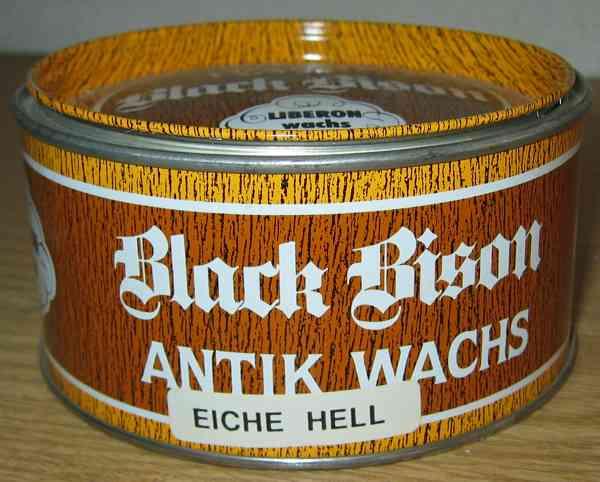 Black Bison Antikwachs, Eiche hell für alte, antike Möbel R424