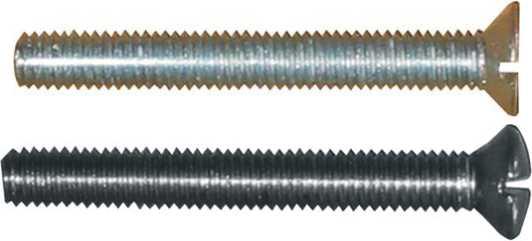 passende metrische Eisenschraube (einzeln, kein Set) zu dem ausgewählten Beschlag
