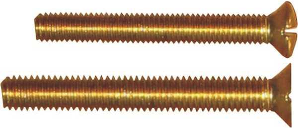 passende metrische Messingschraube (einzeln, kein Set) zu dem ausgewählten Beschlag