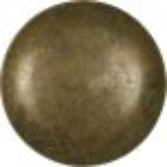 Möbelknopf groß, alter Knopf, Ø 40mm, Messing patiniert. Aus Messing gegossen.