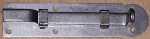 Möbelriegel antik, Riegel gekröpft 12mm, Eisen blank