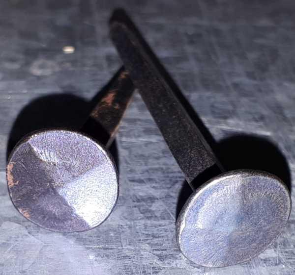 Nägel geschmiedet für Balken, antike Schlossnägel sehr massiv, Schlossnagel schmiedeeisen, Nägel schmiedeeisern, Nagel, 200 g, Eisen, 12 Stück