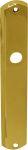 Türschild antik, Türblende alt, aus Messing poliert lackiert, Einzelstück, nur noch 1 x verfügbar