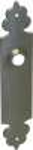 Türschild alt, Langschild antik aus Eisen. Im Konfigurator auch in schmiedeeisen, Eisen geschmiedet erhältlich.