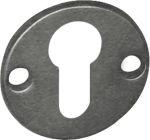 PZ-Rosette, Eisen altgrau, für antike Rosettentürgarnituren