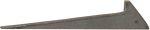 Schließkloben für Kastenschloss zum Einschlagen, Eisen blank