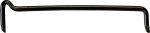 Streifdraht alt, Streichdraht Eisen schwarz verzinkt, 3x90mm