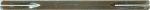 Vierkantstift 8x8x130mm, für etwas dicke Türen, Verbindung von Türdrückern