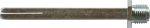 Sicherheitswechselstift 8x8x115mm, Vierkantstift mit Gewinderolle