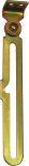 Kippflügelschere für Oberlicht, Kippflügelfenster Eisen verzinkt, links, mit Anschraubplatte und Führungshaken Form B