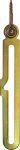 Kippflügelschere für Oberlicht, Eisen verzinkt rechts, mit Ringschraube und Führungshaken Form B
