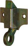 Oberlichtschnäpper klein, Eisen verzinkt. Andere Oberflächen gegen Aufpreis möglich.